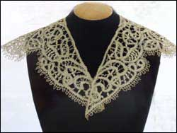 flax lace collar