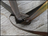 weaving a flax fantail step 42