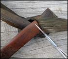 weaving a flax fantail step 45